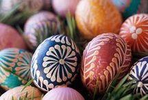 Decorated Eggs: Pysanky / Ukrainian Easter Eggs - decorated eggs, Easter Eggs