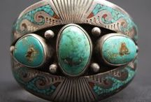 EJ | Native American / Southwestern Jewellery  / This board includes both vintage and contemporary pieces that I like.  Pieces have also been included by artists who do not have 'Native American' roots, such as Frank Patania Sr, but whose work was inspired by the styles and designs of Native American jewellery masters. / by Monika Ettlin