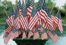 Celebrate America / Ideas to celebrate America.  Great for Memorial Day, Flag Day and July 4th!