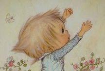 CHILDREN'S ART & ILLUSTRATIONS / by Debbie