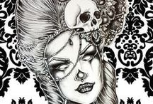 Bone head / It's all about the skull / by Linda Fountain