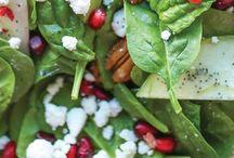 Salads / by Carolyn Bagwell