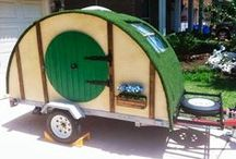 Sprucing Up The Trailer / Ideas to complete functional DIY for travel trailers and campers. / by Linda Fountain