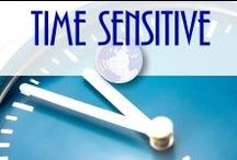 Time Sensitive! / Carpe diem - great stuff that's only good for a short while...