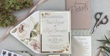 Blush Wedding Inspo / We love this hue taking over weddings and our invitations!
