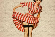 Pin-up / How can you not love the art of Pin-up?!