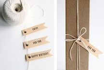 Package it / Pretty gift wrapping and packaging / by Christine Meintjes