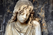 Cimetière / Cemetery, Cemeteries, Grave, Graves, Angels, Death / by Teri Hildebrandt Gehin