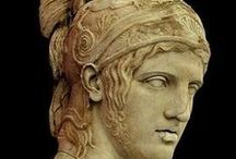 Ancient Greek And Roman Sculpture And Relief / For more sculpture, see my board of Greek And Roman Mythology. / by Violet Love