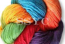 Yarn Magic / So many types of yarn to be used in a myriad of ways! / by Joyce Howe @ L'Intuitif Gem