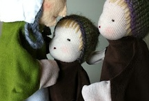 Doll Making / A beautiful collection of doll making tutorials, patterns and directions.  / by Joyce Howe @ L'Intuitif Gem
