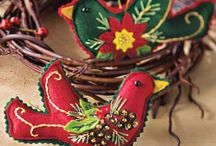 DIY Holiday Crafting / Get started now to make beautiful Holiday gifts and decorations  / by Joyce Howe @ L'Intuitif Gem