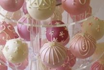 Cake Pops / Compact and decadent, these little beauties are a favorite party food.