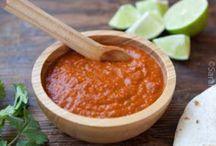 salsas, dressings & dips