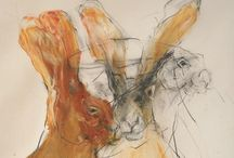 Animal Impressions / Artistic, graphic impressionistic animals. / by Joyce Howe @ L'Intuitif Gem
