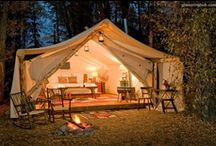 Camping, Glamping + at the Lake / Outdoor-living with style!