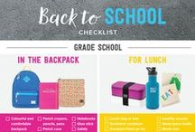 Back to School Ready / Everything you need to send the kids back to school in style! Tips and tricks, activities, our must-have schoolbags and back to school accessories, and more.