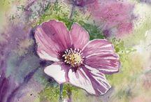 Art- Watercolor Flowers