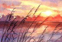 Art- Watercolor Landscape