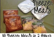 Make-Ahead Meals / Make your freezer work for you.