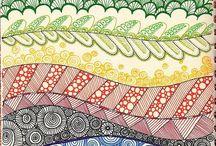 Art-Drawing- Zentangle