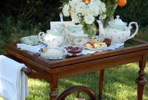 Invitation to My Tea Party / Won't you join me?