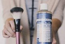 Green and Natural Beauty / Natural beauty products we love. Going green never looked so good!