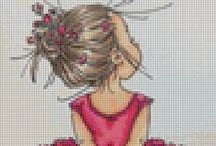 Cross My Heart - Baby / All things baby in cross stitch, embroidery / by Cecilia Hanna LaDéesse