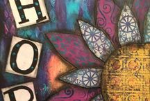 CreativeKady's -Art Journaling and Mixed Media / My creative playtime creations