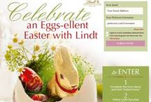 """Lindt's  """"Celebrate an Eggs-ellent Easter"""" / Celebrate an EGGS-ellent Easter this year with Lindt's Lindor Eggs! Enter the Celebrate an Eggs-ellent Easter with Lindt contest for a chance to win a selection of Lindt Chocolate Easter items. You can enter here: http://contests.piqora.com/LindtEaster / by Leslie Montoya"""