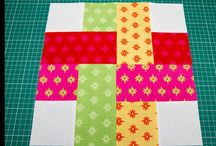 Quilt blocks to knit