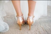 Bridal Style / Little White Dresses. Shoes + Sparkles.