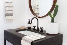 BATHROOM / Ideas for our new house / by Kitty Cotten