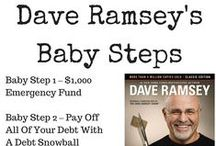 Dave Ramsey Baby Steps / The best tips, details, and things you need to know in order to understand Dave Ramsey and his baby steps from his best selling book, The Total Money Makeover. Learn more at http://moneyqanda.com / by Money Q&A (Hank Coleman)