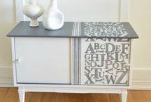 Furniture Makeovers / Furniture Makeover, Furniture Ideas, Furniture DIY!