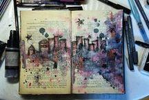 [] Art Journaling