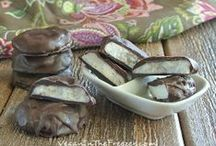 ~ Vegan Sweets ~ / Cookies, Pies, Cakes, No Bake, Gluten Free, Bars, Brownies, Bark, Candy / by Ginny McMeans