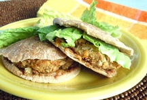 ~ Vegan Sandwiches ~ / Vegan Sandwich recipes from veggies through homemade seitan.  Bean burgers of every kind too.  Wraps recipes from the best plant based bloggers too.