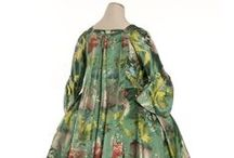 18th century : Robe battante / Robe volante / more or less from 1710 to 1740