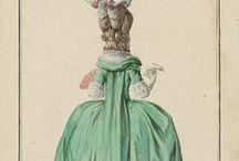 18th century : Robe à la française 1770