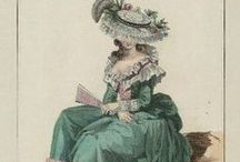 18th century : Caraco ensemble / Jacket + Matching Petticoat