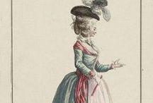 18th century : Lévite & Robe à la Turque