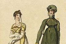 19th century : 1795-1825 Riding Habit
