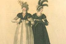 19th century : 1795-1825 Mourning & Half-Mourning Gown
