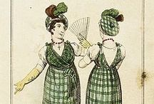 19th century : 1795-1825 Overdress & Over-Robe