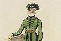 19th century : 1795-1825 Morning Dress