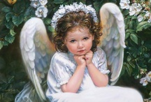 Angels / It is not known precisely where angels dwell - whether in the air, the void, or the planets.  It has not been God's pleasure that we should be informed of their abode. / by Barb Miller
