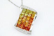 Hues of Sunshine / Citrine & Yellow Sapphire Jewelry By Grande Jewelry / by Grande Jewelers