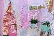 ART AND ILLUSTRATION / by Sandi FitzGerald