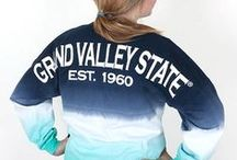 Laker Women's Style / Grand Valley apparel can be found at University Bookstore locations - www.ubs.gvsu.edu / by Grand Valley State University
